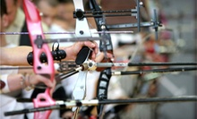 Archery Lesson for One or Two with $10 Toward Next Visit at Queens Archery (Up to 57% Off)