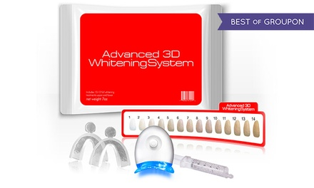 $20 for an Advanced 3D Teeth-Whitening Kit with Lifetime Gel Refills ($149 Value)
