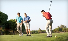 18-Hole Round of Golf for Two or Four with Cart Rental and Range Balls at Montgomery National Golf Club (Up to 56% Off)