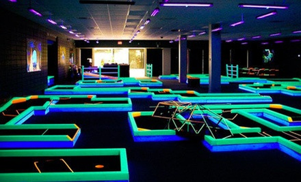 Indoor-Mini-Golf Outing for Two or Four at Lunar Mini Golf (Up to 53% Off)