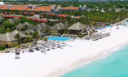 groupon daily deal - All-Inclusive Stay for Two at Allegro Playacar Resort in Playa del Carmen; Dates into December
