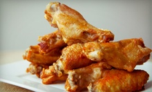 Pub Meal with Appetizers, Wings, and Sandwiches for Two or Four at Liberty Bar &amp; Grill (Up to 53% Off)