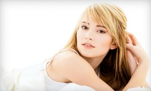 Haircut and Blow-Dry with Optional Highlights or Highlights and Color at Aesthetic Beauty Salon (Up to 54% Off)
