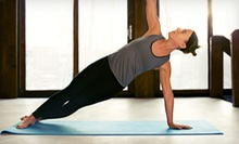 10 Drop-In Classes or One Month of Unlimited Classes at Downtown Yoga Studios (Up to 68% Off)