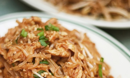 Thai Cuisine at Thai Lotus (Up to 50% Off). Two Options Available.