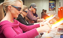 Wineglass Class for One or Two, Private Project for Four, or Pint-Glass Class for One at Zen Glass Studios (Half Off)