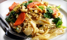Thai Cuisine at Jaded Thai (Half Off). Two Options Available.