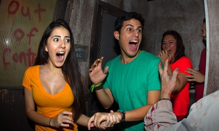 $45 for Admission to Howl-O-Scream at Busch Gardens Tampa on Friday, October 3 or 10 (Up to $95.23 Value)