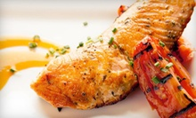 $69 for a Five-Course Dinner for Two with Sangria and Spanish Entertainment Experience at Cafe Sevilla ($140 Value)