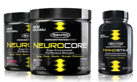 Muscletech Nanostim and Neurocore Bundle