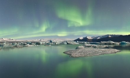 ✈ 5-Day Iceland Trip with Airfare and Northern-Lights Tour from Gate 1 Travel. Price/Person Based on Double Occupancy from Iceland Northern-Lights Vacation with Airfare -