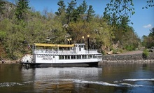 80-Minute Scenic Riverboat Tour for Two or Four from Taylors Falls Scenic Boat Tours (Up to Half Off)