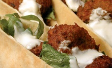 $12 for a Healthy Mediterranean Meal with Entrees and Sides for Two at Tahini Mediterranean Grill (Up to $24 Value)