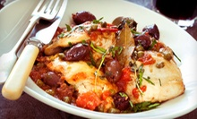 Italian Food and Drinks for Two or Four at Trattoria Bel Paese (Up to 52% Off)