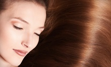 One, Two, or Three Pure Brazil Brazilian Blowout Treatments at Advance Cut Hair Group (Up to 72% Off)