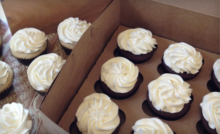 $12 for One Dozen Classic Cupcakes of the Same Flavor at BellaCakes ($24 Value)