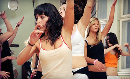 10 or 20 Zumba Classes at Dance Alley Studio (Up to 52% Off)