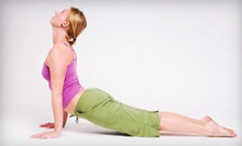 5 or 10 Yoga Classes at White Lotus Yoga Studio in Romeo (Up to 63% Off)