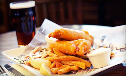 Pub Meal with Drinks for Two, Four, or Six at Maltby's Restaurant (Up to 53% Off)