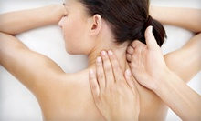 One 60-Minute Massage, One Body Wrap, or Both at Knead Body Boutique (Up to 61% Off)