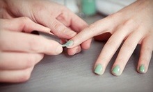 One or Three Gel Manicures at ELEMENTS salon (Up to 57% Off)