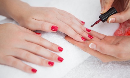 One or Three Gel Manicures at Angelic Nails Spa (Up to 49%Off)