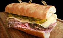 Sandwiches and Drinks for Two or $20 for $40 Worth of Sandwiches and Drinks at The Sandwich Spot 