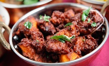 Indian Lunch Buffet or Dinner at Curry in a Hurry (Up to Half Off). Three Options Available.