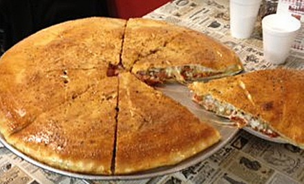 Lunch for Two with Pizza, Sides, and Drinks, or $10 for $20 Worth of Pizzeria Cuisine at Roc-A-Fellas Pizza