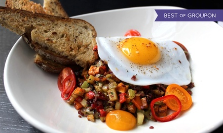 Brunch or Lunch for 2 or 4 at Benchmark or Highline Bar + Grill from Four Corners Tavern Group (Up to 46% Off)