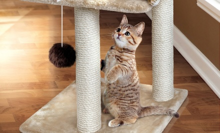 Animal Planet Three-Tier Cat Tree