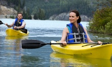 Eight Weekly After-Work Kayak Rentals on Mondays, Tuesdays, or Wednesdays from Sebago Trails Paddling Co. (51% Off)