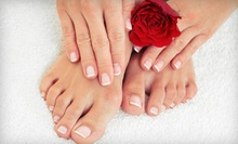 $39 for a Classic Mani-Pedi with Paraffin Dip and Exfoliating Foot Mask at Charisma &amp; Associates Hair Salon ($85 Value)