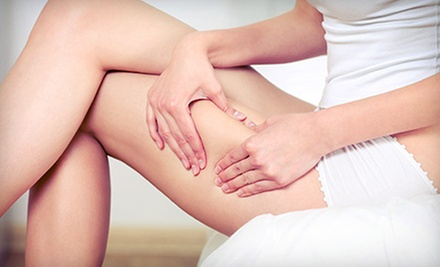 Four, Six, or Eight Cellulite-Reduction Acoustic Wave Therapy Treatments at energyXchange (Up to 80% Off)