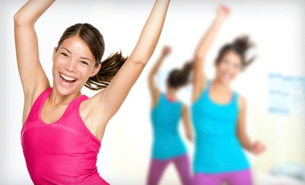 5, 10, or 20 Group Zumba and Salsa Lessons at DanceFit 455 (Up to 76% Off)