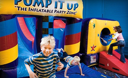 $20 for Five Pop-In Playtime Sessions at Pump It Up ($40 Value)