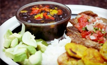 Dominican Cuisine for Two or Four at Cazabe Restaurant (Up to 52% Off)