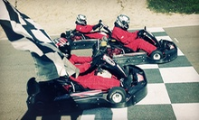 Two Kart Races MondayFriday or Sunday, or One Professional Kart Class for Two at Adams Motorsports Park (Up to 42% Off)