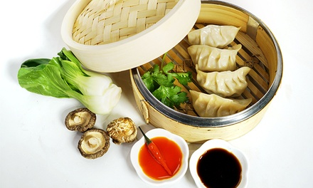 $9.75 for Three Groupons, Each Good for Five Dumplings at dumplingGO ($14.97 Value)