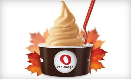$5 for $10 or $12 for $25 Worth of Frozen Yogurt and Treats at Red Mango