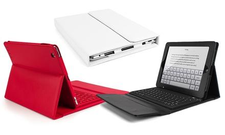Capa com teclado para iPad 2, 3 e 4 disponível em três cores por 19,90€