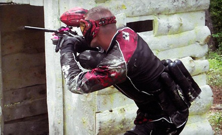 All-Day Paintball Package with Gear Rental for Two, Four, Six, or Eight at WarPlay Paintball (Up to 86% Off)