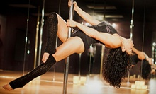 $28 for Three Introductory Pole-Fitness Classes at Venus Pole Fitness ($84 Value)