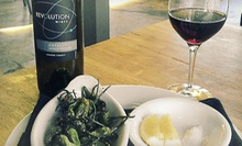 Wine and Small Plates for Two or Four at Revolution Wines (Up to 51% Off)