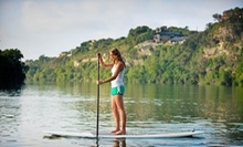 $19 for a Standup-Paddleboarding Fitness Class from EMS Outdoor Schools ($40 Value). 12 Dates Available.