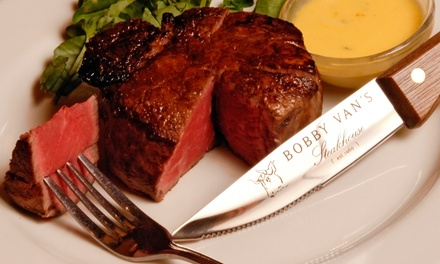 Steak and Seafood at Bobby Van's Steakhouse (Up to 35% Off)