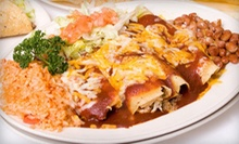 Mexican Food for Two or Four at El Rincon Mexican Restaurant (Half Off)