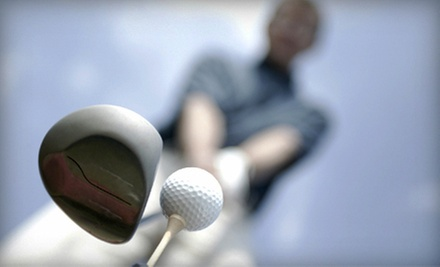 C$19 for One-Hour Simulator Golf Session for Up to Eight at Metro Fairway Indoor Golfing (Up to C$40 Value)