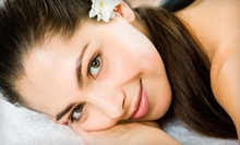 Facial, Deep-Tissue Massage, Eyebrow Shaping, Eye Treatment, and Choice of Nail Service at BBS Wellness (Up to 60% Off)