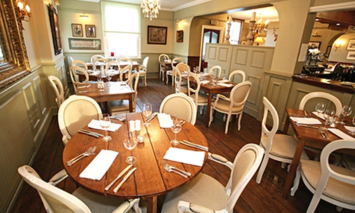 the white horse - etchingham: Two-Course Meal For Two or Four from £22 at The White Horse (50% Off)